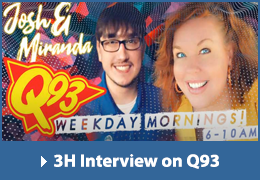 3H Interview at Q93